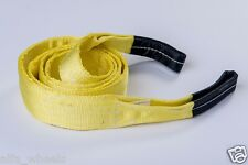 "3"" 9T Tow Strap 10ft winch tree saver protector off-road snatch recovery"