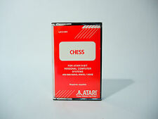 COMPUTER CHESS ATARI Videogame Cassette / Tape complete with case & inlay