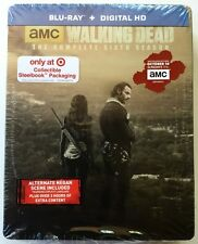 AMC THE WALKING DEAD COMPLETE SIXTH SEASON BLU RAY TARGET EXCLUSIVE STEELBOOK