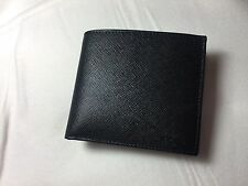 100% auth PRADA men's saffiano wallet Brand new in box