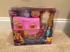 Disney Princess Tangled Rapunzel Mini Dress Shop with Doll. Magiclip Size