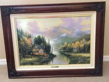 Thomas Kinkade Limited Edition Lithograph Simpler Times 1