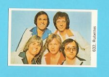 The Rubettes Vintage 1970s Pop Rock Music Card from Sweden #632