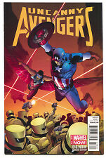Uncanny Avengers 18.NOW 18 Marvel 2014 NM 1:20 Lee Weeks Variant Captain America