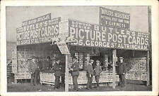 Altrincham. Butler's Bowdon Series Picture Postcard Publisher Exhibition Stand.