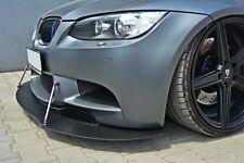Cup Spoilerlippe Racing BMW M3 3er E92 E93 Lippe Spoiler Diffusor schwert ansatz