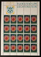 Timbre LIECHTENSTEIN Stamp - Yvert et Tellier n°505 x20 (En Feuillet) n** (Y5)