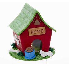 Holiday LED Dog House Table Decoration