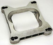 QUADRAJET 4 BARREL TO ADAPTER INTAKE MANIFOLD CARBURETOR THROTTLE PLATE FOUR