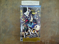 Persona 4 Golden: Solid Gold Premium Edition (PlayStation Vita, 2012) Brand New