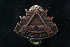 USA US Army 2nd Corps Support Command Excel All Regiment COSCOM Badge Logistics