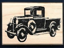 CLASSIC PICKUP TRUCK Antique Holtz Collection STAMPERS ANONYMOUS RUBBER STAMP