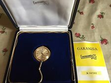 Orologio Eberhard Oro 18 K Da Tasca Taschino Cipolla Pocket Gold Watch