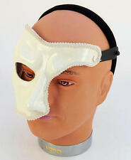 White Phantom Of The Opera Face Mask Halloween Fancy Dress