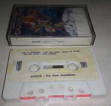 Europe The Final Countdown - MC Cassette Tape 1986 cassetta molto vecchia ma ok