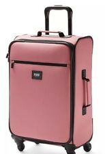 New Victoria's Secret PINK Wheelie Luggage Carry On Suitcase Travel Bag VACAY