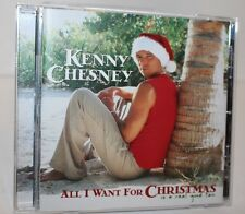KENNY CHESNEY ALL I WANT FOR CHRISTMAS Is a Real Good Tan MINT CD Resealed