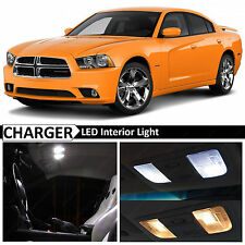 18x White Interior LED Lights Package Kit for 2011-2014 Dodge Charger + TOOL