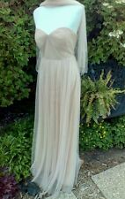Jenny Yoo Annabelle Bridesmaid Dress Tuscan Beige Size 8