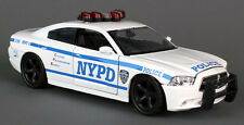 New York Police Department 1:24 NYPD Modellauto NYC Dodge Charger Highway Patrol