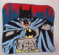 New Batman Washcloth 100% Cotton 2014 Blue Gray Red