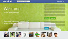 Social Network Website just like facebook