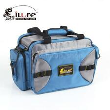 Soft Sided Fishing Tackle Box Storage Bag with External Pockets 1V1Y