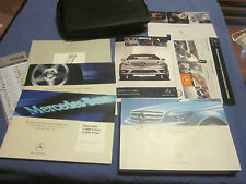 2008 MERCEDES C CLASS 300 230 350 C350 SPORT OWNERS MANUAL OWNER'S SET W/ CASE