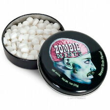 Zombie Breath Mints, Mmmm! Brain Flavor! in Illustrated Metal Tin, SEALED