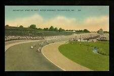 Car Auto Racing postcard Indianapolis Motor Speedway Indy 500, IN Pacing Lap