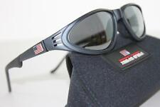 NEW*~POLO SPORT~Ralph Lauren Gray Sunglasses FLAG Black VINTAGE Italy 1014/S