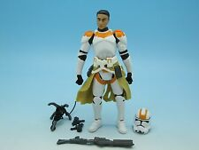 "Star Wars Clone Trooper Lieutenant (Legacy Comic Routine Valor) 3.75"" Figure"