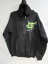 NEW - PANIC AT THE DISCO CONCERT / MUSIC ZIP UP HOODIE SWEATSHIRT LARGE