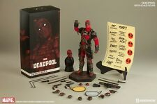 "SIDESHOW HOT TOYS MARVEL COMICS DEADPOOL 12"" FIGURE 1/6 SIXTH SCALE READY 2 SHIP"
