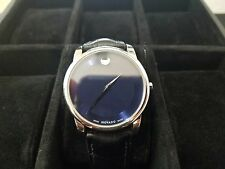 *** AMAZING DEAL Men's Movado Museum Watch Blue Dial ***