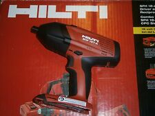 "HILTI SIW 18T-A  1/2"" 21.6v 18v  IMPACT WRENCH TOOL ONLY Brand New"