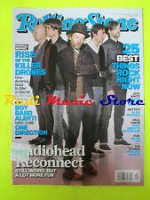 ROLLING STONE USA MAGAZINE 1155/2012 Radiohead Bonnie Raitt Jack White  No cd
