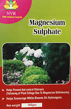 MAGNESIUM SULPHATE / EPSOM SALT-100% water soluble fertilizer for Greens(100gm