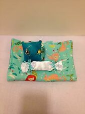 MERMAID&SEAHORSE BEDDING SET FOR BARBIE, MONSTER HIGH, OR BRATZ DOLLS