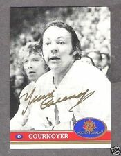 1972 Team Canada Yvan Cournoyer Autographed Card