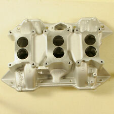 Edelbrock 383 400 Stock Heads Mopar 6 Six Pack Intake P4529055 2470 6 BBL DP-6B