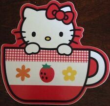 "Hello Kitty Sticker 4 1/4""x4.5"""