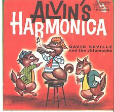 CHIPMUNKS--PICTURE SLEEVE ONLY--(CHIPMUNK SONG/ALVIN'S HARMONICA)--PS--PIC-SLV