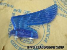 HONDA SUPER CUB C100 CA100 C102 C105 CD105 CM91 CM90 Headlight Wing Visor / blue