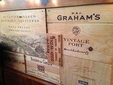 �� 10 Assorted Rare ❗️BRANDED Wood WINE PANELS. Diff. Sizes. Huge Ebay Store��