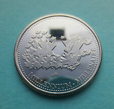 RARE 2000 TEST TOKEN MAPLE LEAF MAP DESIGN - LIMITED EDITION MILLENIUM COIN