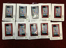 Mixed Lot of 7x Jivo Ji1183 Red and 3x Jivo Ji1184 Smoke Screen Iphone 4/4s Case
