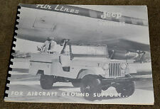 VTG 1950s Willys Overland Jeep Vehicles For Airport Ground Support Book N
