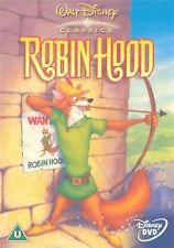 Robin Hood Disney Original Animated Cartoon Brian Bedford NEW & SEALED UK R2 DVD