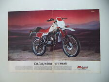 advertising Pubblicità 1983 MOTO MALAGUTI RCX W 50 ENDURO